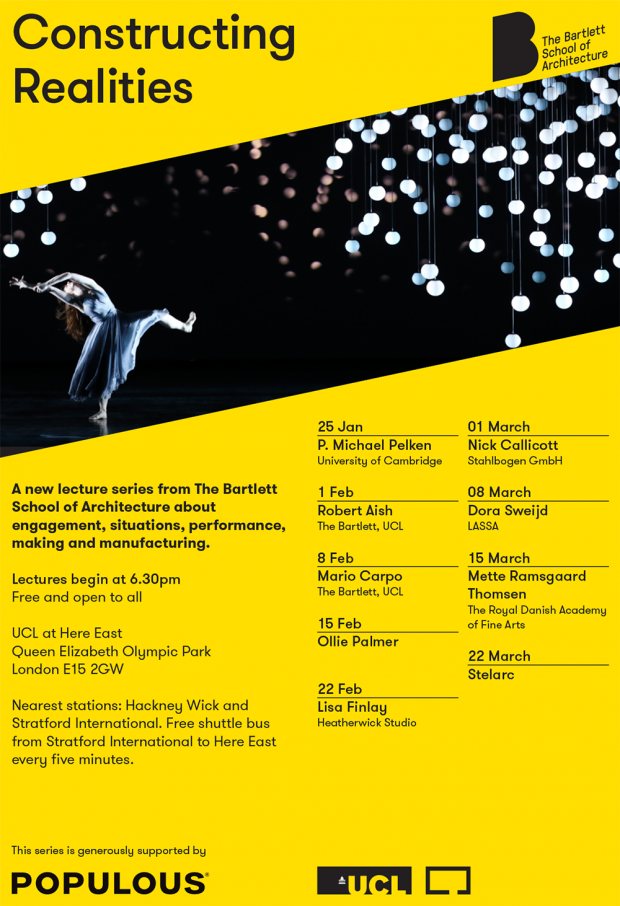 Constructing Realities Lecture Series, Spring 2018